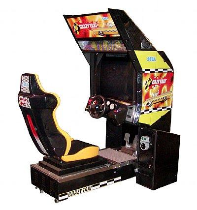 taxi arcade machine