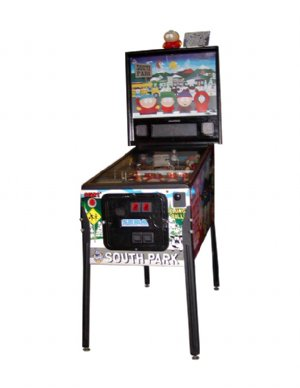 south park pinball pinball machine rentals wow entertainment inc