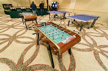 Foosball TableBonzini Foosball Table Rental For Corporate Events - Bonzini foosball table